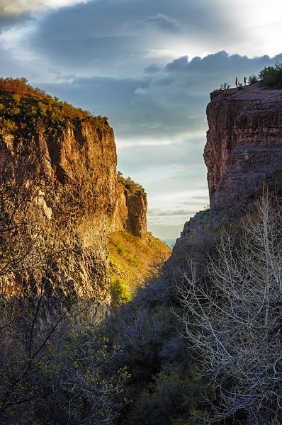 Dry Canyon Hiker's Vista