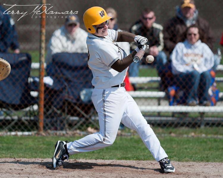 Bay City Western @ Carleton Airport Tournament MHSAA Boy's Varsity Baseball 2010