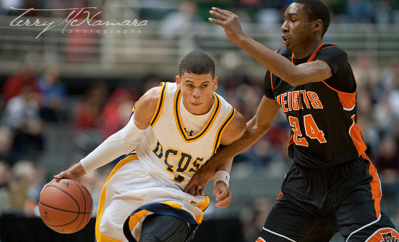 Muskegon Heights vs. Detroit Country Day<br /> MHSAA Boy's Basketball Class B Semi Final<br /> 2010