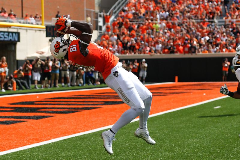 The Oklahoma State University Cowboys vs the Southeastern Louisiana Lions in NCAA Football In Boone Pickens Stadium on September 3, 2016. Photos by Mitchell Alcala