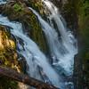 Soleduck Falls, Olympic National Park, Washington.