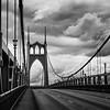 St John's Bridge Overcast B&W