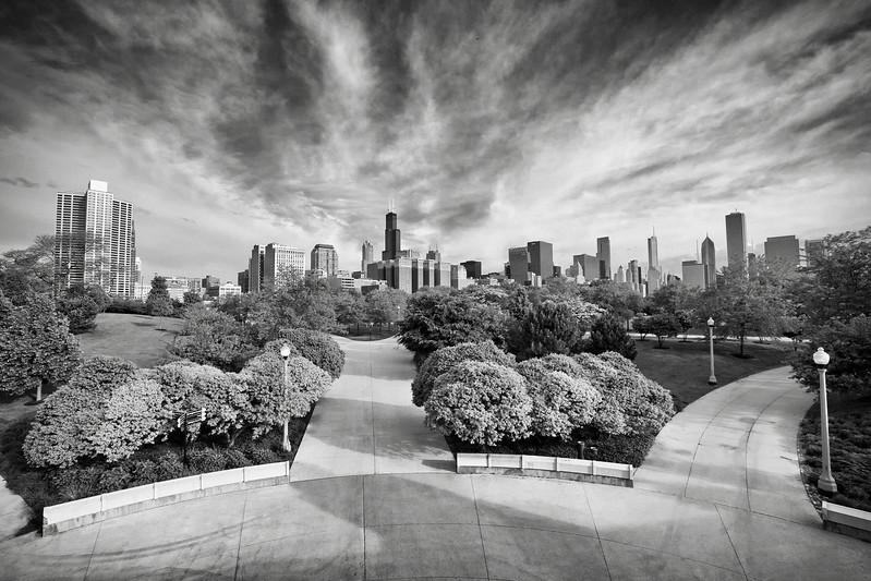 South Grant Park Skyline View