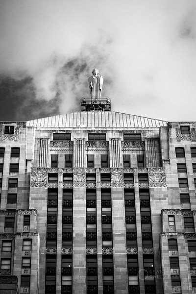 Ceres Atop the Chicago Board of Trade Building