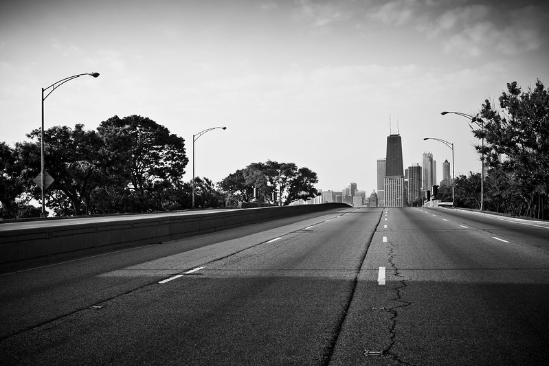 South on Lake Shore Drive