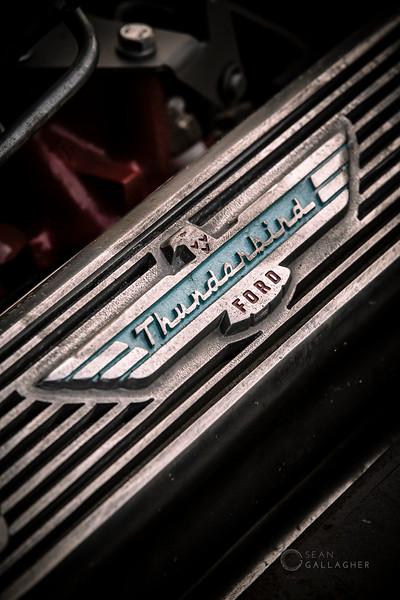 1956 Ford Thunderbird Engine