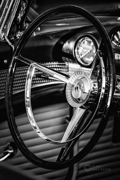 1956 Ford Thunderbird Steering Wheel
