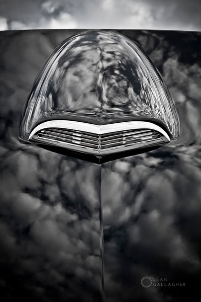 1956 Ford Thunderbird Hood Scoop