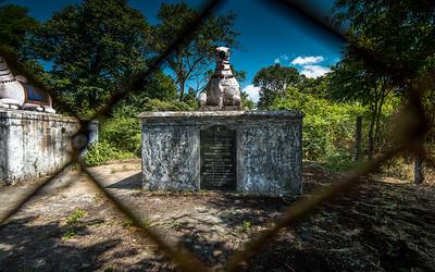 Tomb of two royal officials, Biddanda Bopu who died fighting Tipu Sultan, and his son Biddanda Somaiah.