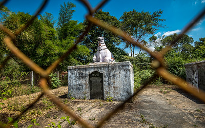 Tomb of Biddanda Bopu who died fighting Tipu Sultan, and his son Biddanda Somaiah.