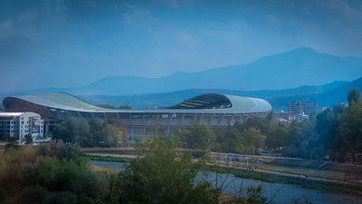 Toše Proeski National Arena is a sports stadium in Skopje, North Macedonia. It is currently used mostly for football matches, but sometimes also for music concerts or athletics