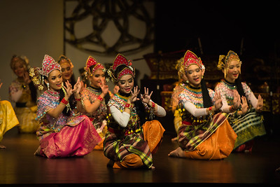 'Mengadap Rebab'. An opening dance in traditional theatre 'Makyong' and is performed as a tribute to Makyong's main musical instrument, 'Rebab'