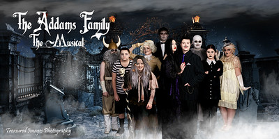 Addams Family banner