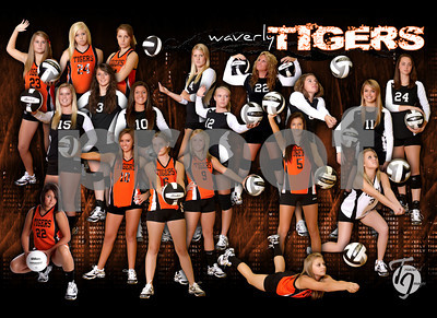 WHS Girls Volleyball 2010