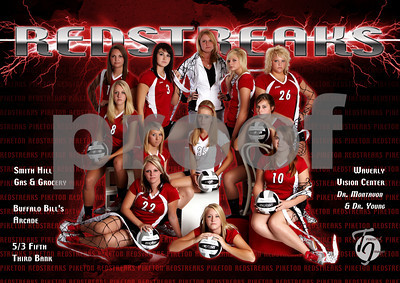 PHS Girls Volleyball 2010