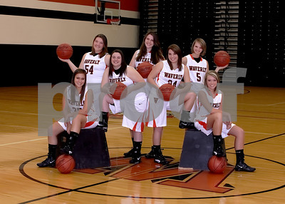 Senior girls bball