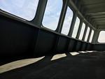 Windows, Ferry boat, Puget Sound, WA USA