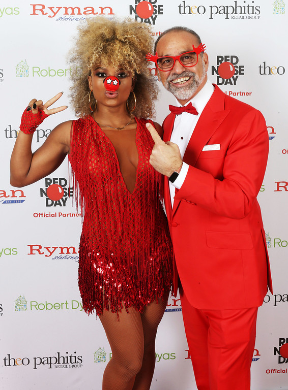 Theo Paphitis's Comic Relief Ball at Troxy, London, UK, 10th March, 2017