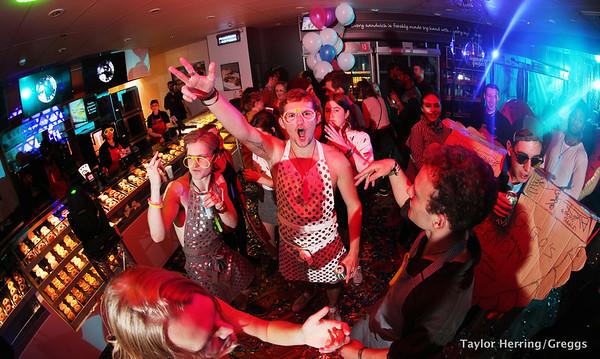 Greggs transformed shop into nightclub, Birmingham, UK, 11th October 2017
