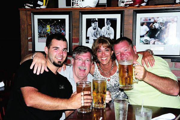 Jason, Bruce, Judi, & Tim - doing what they do best!