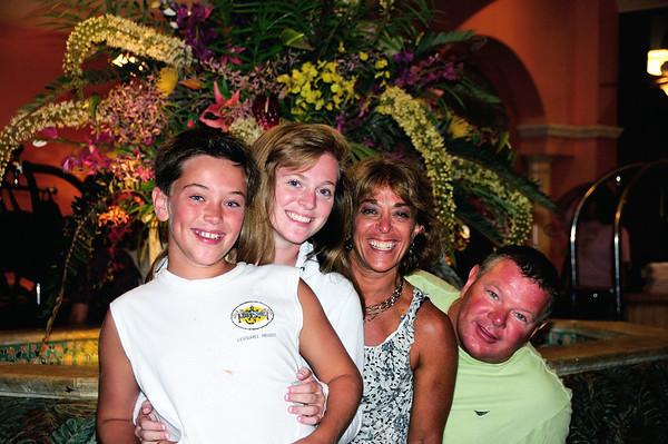 The incredibly photogenic Boland Family!   Danny, Heather, Judi, & Tim