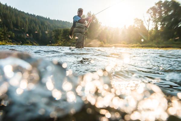 Truckee River Fisherman