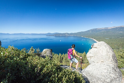 Monkey Rock above Lake Tahoe