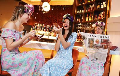 Aster girls Launch Aster restaurant, London, UK, 1st February 2017