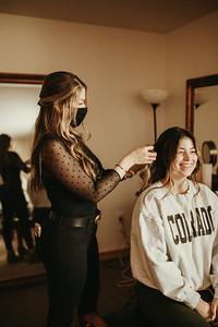 Wedding Hair Styling