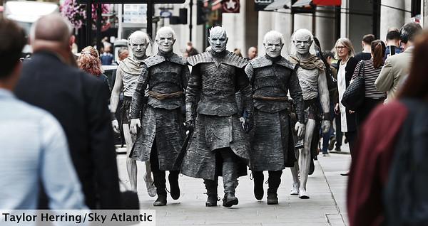 White Walker's around London