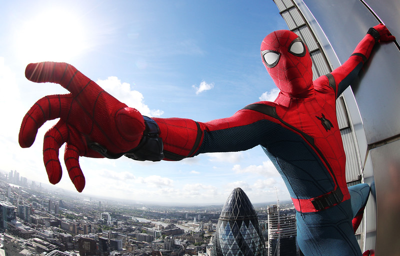 Spider-Man comes to London, UK, 20th June 2017