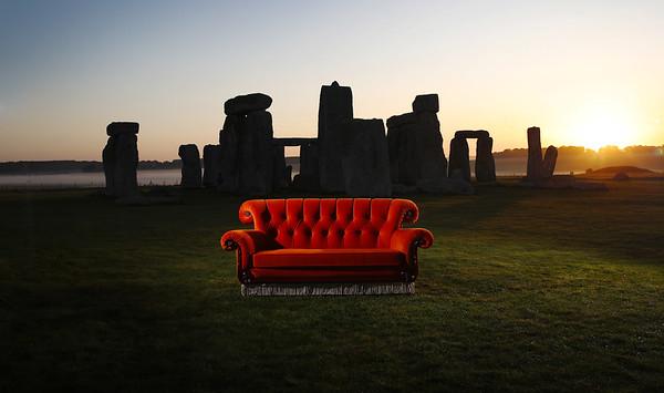 FRIENDS Sofa Tour - Stonehenge