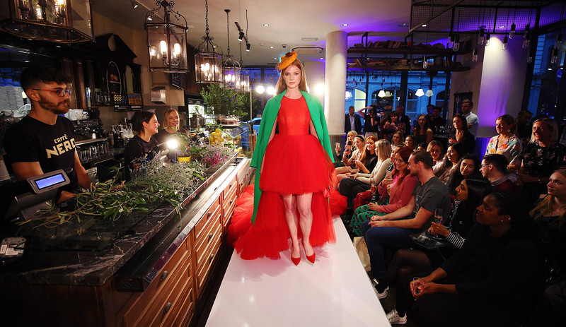 Caffe Nero launches coffee shop catwalk