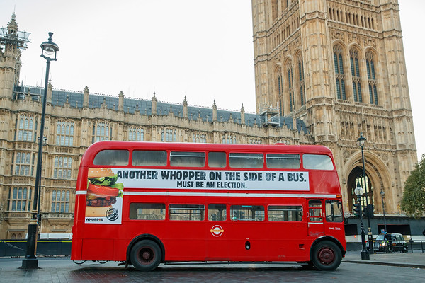 Burger King - Whopper Bus