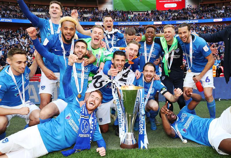 Checkatrade Trophy FINAL -  Sunderland v Portsmouth - 31/03/19