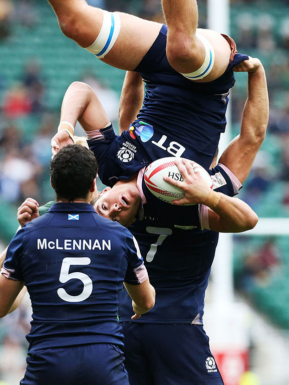 HSBC London Rugby Sevens Final Scotland vs South Africa, Twickenham, UK, 22nd May 2016