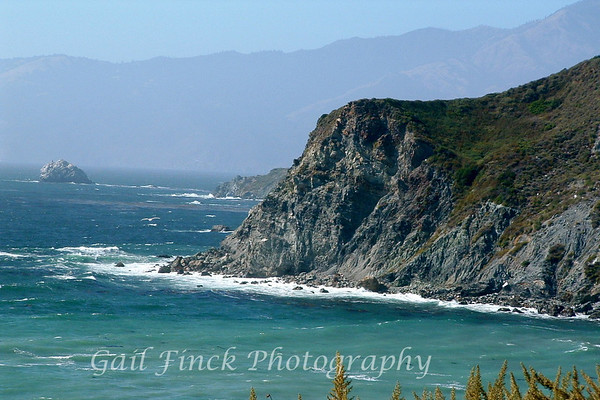 VIEW FROM THE PACIFIC COAST HIGHWAY - Between LA and Monterey Bay, CA