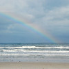 Partial rainbow over New Smyrna Beach, FL