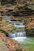 Watkins Glen Cascading Falls