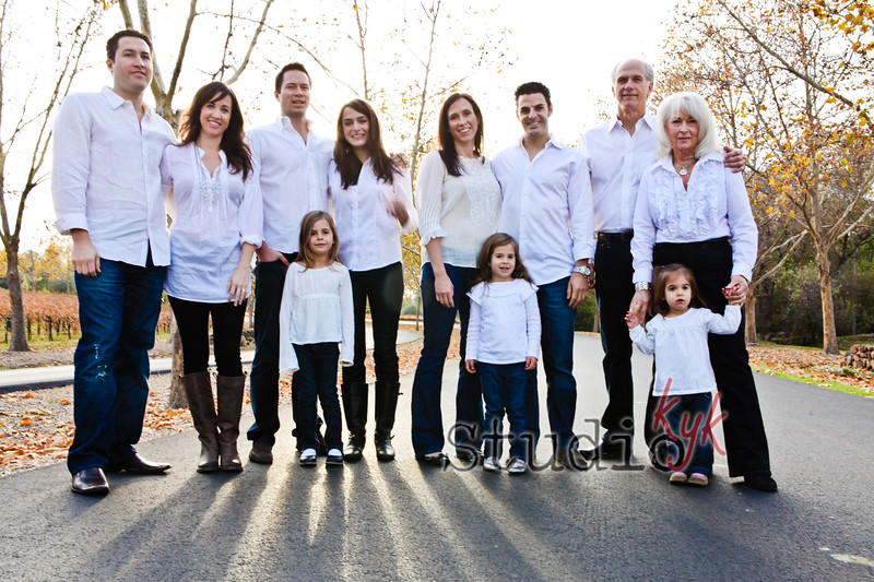 Q: do you shoot large groups?   A: Yes I do, please contact me for your personal sitting fee details and  price.