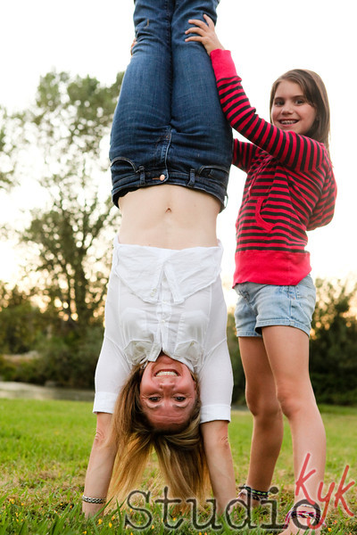 handstands at all ages kick A$$!