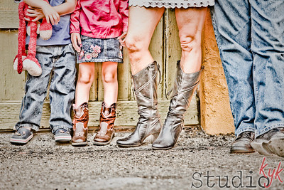 jeans, skirts  and boots....  ;)