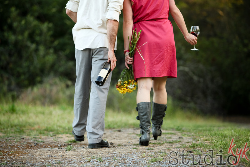 bring flowers and wine it makes everyone :)