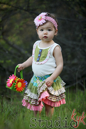 fabulous....  everything the colors textures flower in hair  and basket!