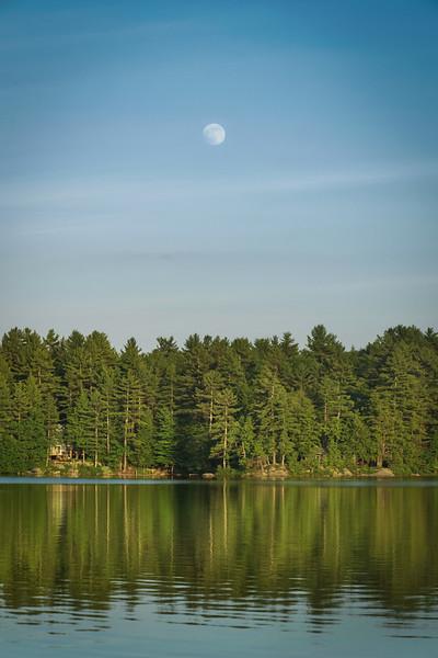 """""""Moonrise Over Gould Pond"""""""