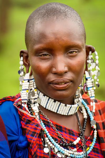 Massaai woman