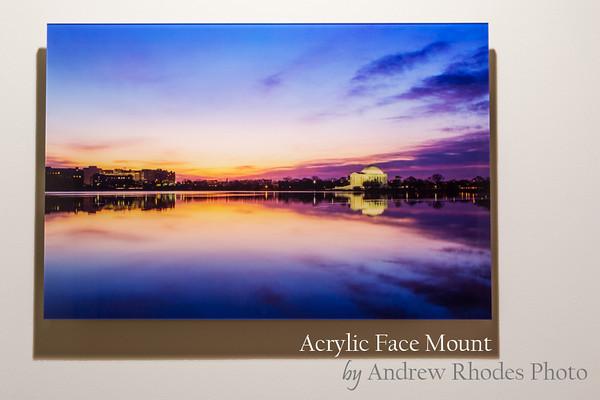 Acyrlic Face Mount