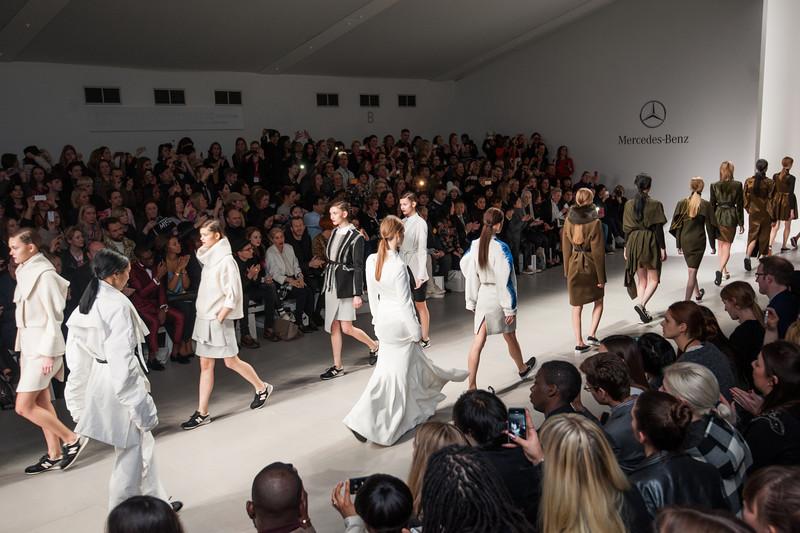 Merc for London Fashion Week