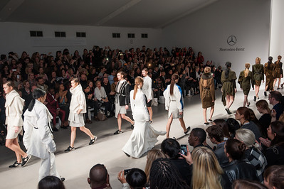 Merc for London Fashion Week
