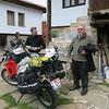 Saying goodbye to Tony at Motocamp Bulgaria